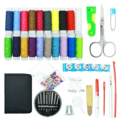 Sewing Kits, Sewing Supplies with Buttons/Needle/Scissors, 126Pcs
