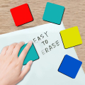 48 Pack Mini Magnetic Whiteboard Erasers(4-color, 2 x 2 x 0.79 Inch)