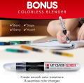 26 Smooth and Easy Blending Water Soluble Crayons