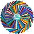 Permanent Vinyl Sheets (Pack of 65, 12