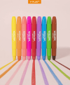 12 Colors Washable Silky Crayons for Toddlers