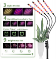 Full Spectrum Plant Light for Indoor Plants with Remote