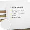 Gessoed Wood Panel Boards for Painting - 16x20 Inch/2 Pack