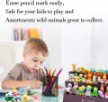 70PCS Animal Eraser Puzzle Erasers for Kids Classroom Party