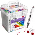 48 Ultra Low Odor Dual Tips Art Markers