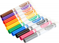 Crayola Broad Line Markers Bulk, 12 Marker Packs with 10 Colors