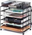 5 Tier Office Desk Organizers and Accessories