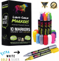 Chalk Markers by Vaci, Pack of 10