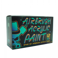 12 Color Airbrush Acrylic Ink for Model Shoes Leather Painting
