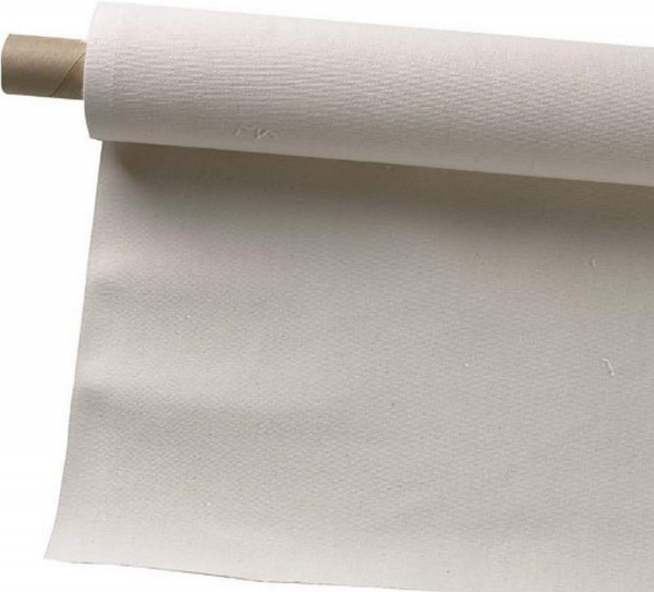 63-Inch by 6-Yards Canvas Rolls, Unprimed