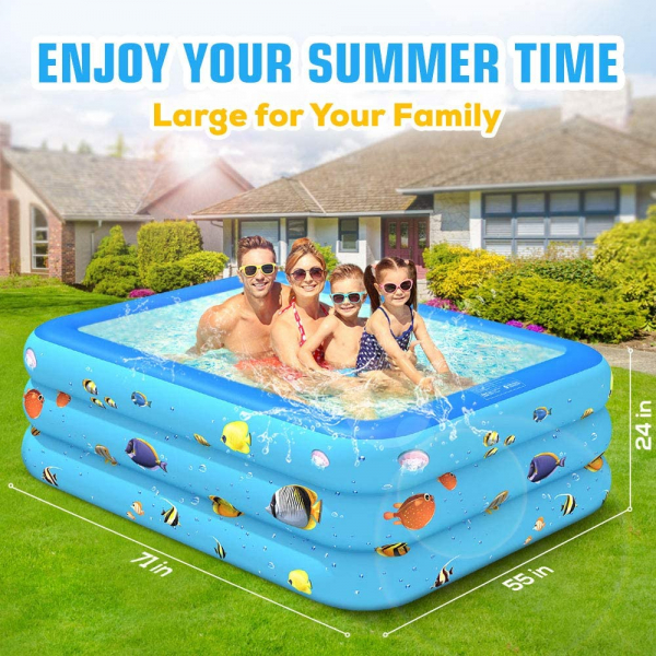 Inflatable Swimming Pool, 71
