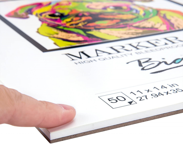 Bleedproof Marker Paper Pad, A3(11.69