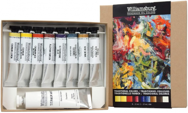 Williamsburg Oil Traditional Colors Set