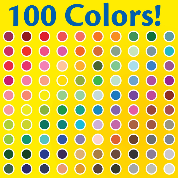 Crayola Super Tips Marker Set, Washable Markers, Assorted Colors, 120Ct