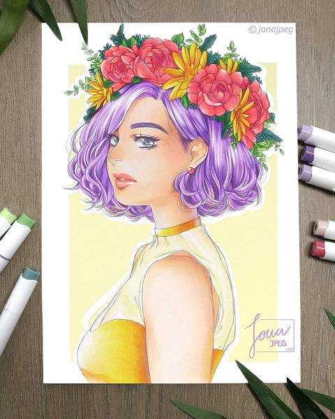 168-color Alcohol Brush & Chisel Markers