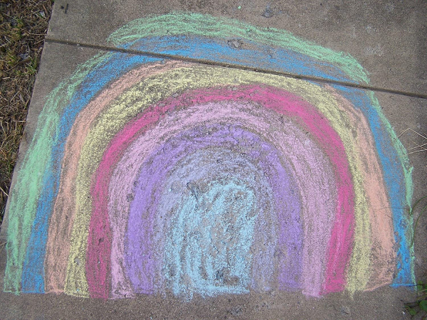 Sidewalk Chalk for outdoor drawings,Includes 2 chalk holders